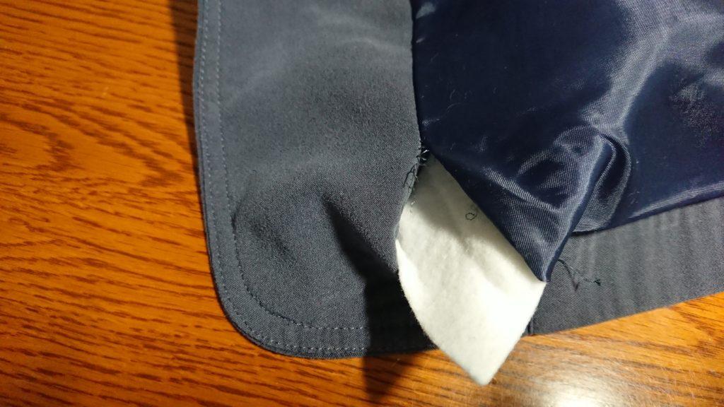 【ジャケットの肩パッドを取る方法】簡単な肩パッドの外し方